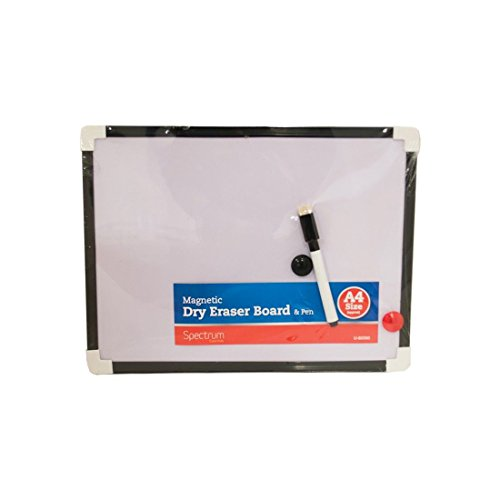 A4weiß Board Mini Wipe Board magnetisch Mit Trocken abwischbarem Stift und Radiergummi