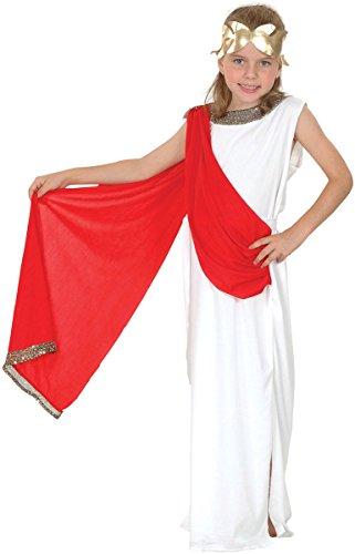 (Bristol Novelties Mädchen Fancy Xmas Party Feier Griechische Göttin Woche Tag Komplettes Kostüm UK)