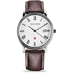 Men's Watch Nelson Martina Classic Silver 308