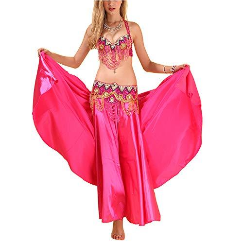 Huatime Tanzsport Bekleidung Damen Bauchtanz - Röcke Bühne Indien Kleider Kostüme Bollywood Performance Carnival Cosplay ()