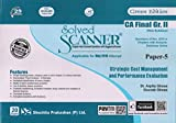 Scanner CA Final (New Syllabus) Gr. II Paper - 5 Strategic Cost Management and Performance Evaluation
