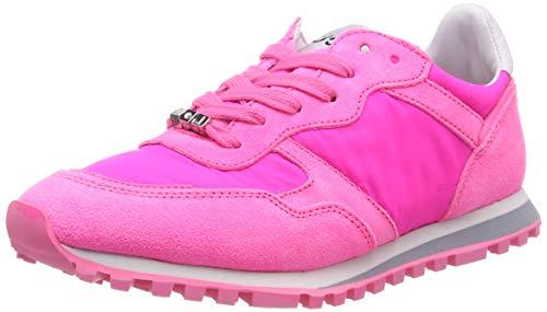 Liu Jo Shoes Alexa-Running Fuxia Fluo, Scarpe da Ginnastica Basse Donna, Rosa S16f1, 37 EU