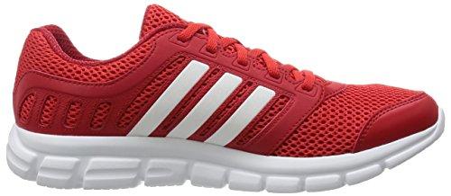 adidas Herren Breeze 101 2 Laufschuhe, Bunt, Talla Unica Rot (Vivid Red/Ftwr White/Power Red)