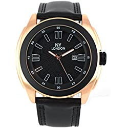 Latest Men's Designer Watch Rose Gold Bezel With Date Function Easy To Read