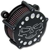 Filtro aria Thriller nero - KIT Per Twin Cam dal 1999 al 2016 a carburatore e iniezione Delphi(esclusi Touring dal 2008 al 2016)