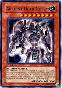 Yu-Gi-Oh! - Ancient Gear Golem (SD10-EN012) - Structure Deck 10: Machine Re-Volt - 1st Edition - Common by Yu-Gi-Oh! - Yugioh Deck Machina Structure