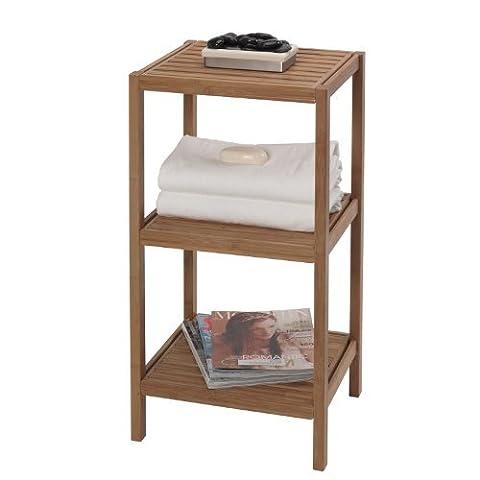 Creative Bath 3-Shelf Bamboo Tower by Creative Bath