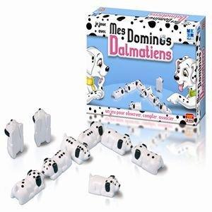 Megableu - Jeux enfants - Mes Dominos Dalmatiens