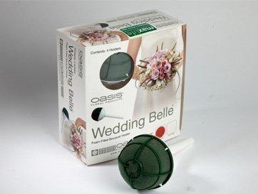 5cm Wedding Belle Bouquet Holders for Fresh Flowers Pack of 4