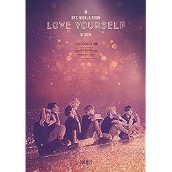 Lionbeen BTS World Tour Love Yourself In Seoul Movie Poster Cartel de la Pelicula 70 X 45 cm