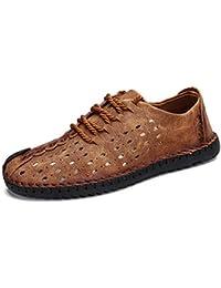 eea5b04ce Sneerrt Zapatos cómodos de Verano para Hombres Mocasines Calidad Zapatos de  Cuero Partidos Hombre Mocasines Zapatos