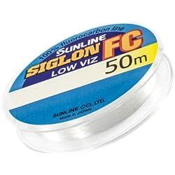 Sunline Siglon FC Fluorocarbon Line 50m 18lb Diameter 0.35 mm (5891)