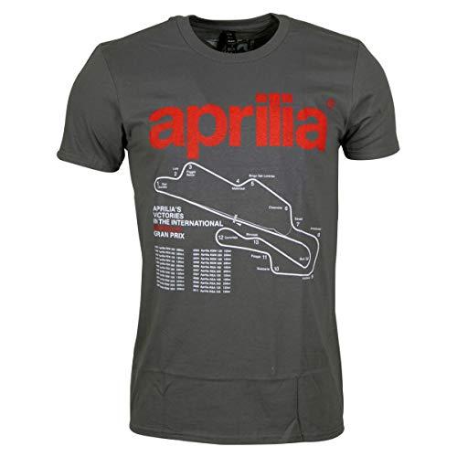 Aprilia Racing Vintage T-Shirt Victories grau (XXL) -