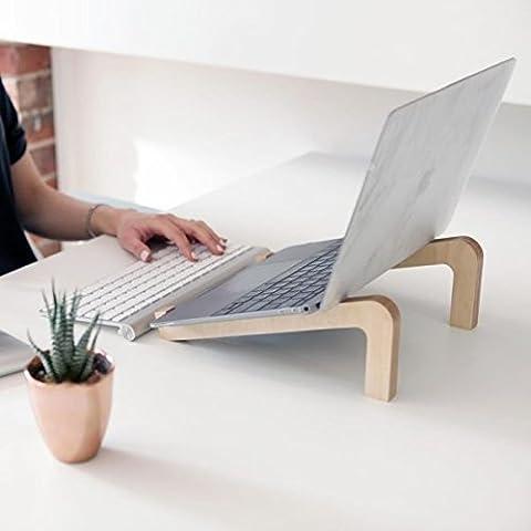 Humbleworks Éco-responsables support ordinateur portable pour Mac et PC/Améliore la posture et de ventilation/transport facile