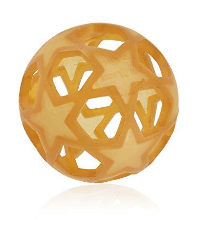 Hevea Star-Ball vielseitiges Baby-Spielzeug 12 cm Natur