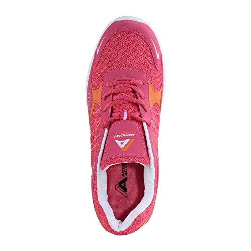 HSM Schuhmarketing , Chaussures de fitness pour femme rose rose bonbon rose bonbon