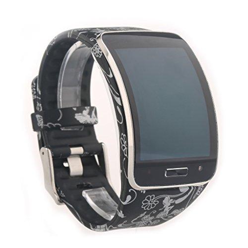 VAN+ Uhrarmband fur samsung Galaxy Gear S R750 Smartwatch Ersatzarmband Armband (multi - farbe fakultativ),kein Smartwatch