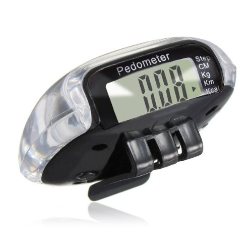 LCD-Digital-Multi-Pedometer-Walking-Step-Distance-Calorie-Counter-Run-Fitness-Black