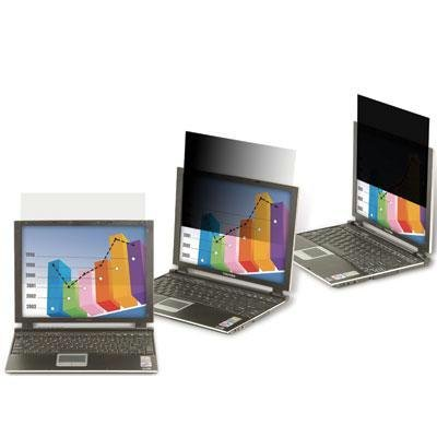 """3M Blickschutzfilter - Bildschirmfilter - 61 cm Breitbild (Breitbild mit 61,00cm (24\"""")) - Schwarz - für Apple iMac (24\"""")"""