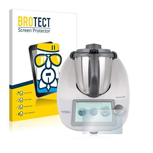 brotect Protection Ecran Verre Compatible avec Vorwerk Thermomix TM6 Film Protecteur Vitre 9H Anti-Rayures, AirGlass