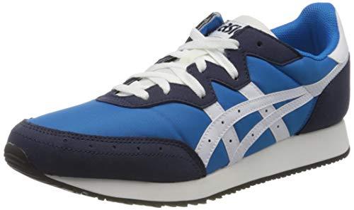 ASICS Mens TARTHER OG Running Shoe, Directoire Blue/White