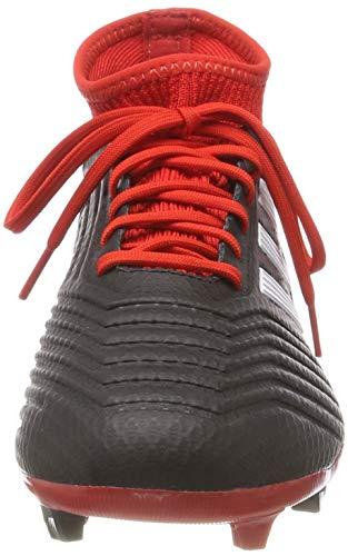 online retailer 2461a bc18a ... Adidas Predator 18.3 FG, Botas de fútbol para Hombre, Negro  (Negbás Ftwbla ...