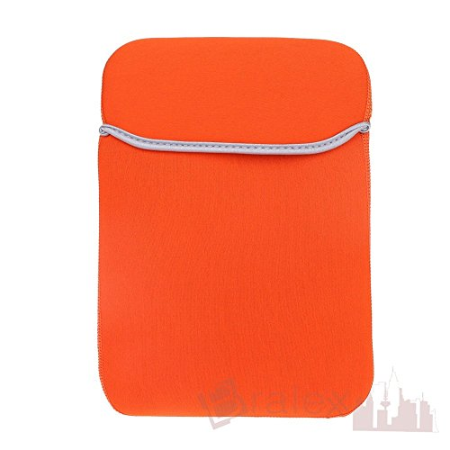 BRALEXX Universal Neopren 10 Zoll Tablet PC Hülle passend für Odys Iron, Orange