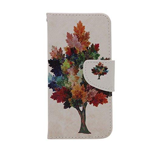 Folio Flip Coque Case pour iPhone 6 6S 4.7