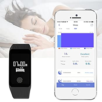 Funbot Fitness Tracker, Activity Tracker Heart Rate Monitor Smart Bracelet Ip67 Waterproof Fitness Watch Sleep Monitor Pedometer Calorie Counter With Replacement Band For Android & Ios 3