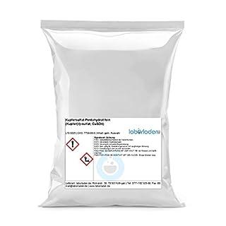 1kg Kupfersulfat Pentahydrat (Kupfer(II)-sulfat, CuSO4, für Pool, Labor, Werkstatt, Kristallzucht) - 1000g