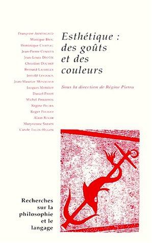 Livre Pdf Téléchargement Esthétique Des Goûts Et Des Couleurs