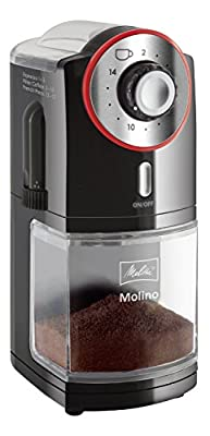 Melitta Molino Electric Burr Grinder with UK plug