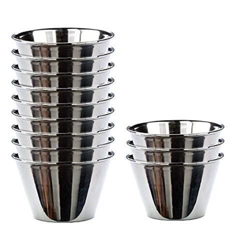 Menax - Puddingform - Edelstahl - Set 12 - Ø 8 cm