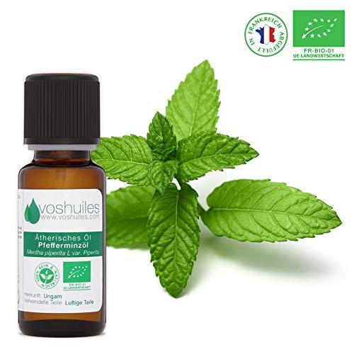 Ätherisches Bio-Pfefferminzöl - 20 ml -