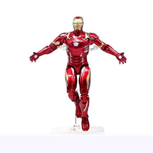 SSRS Avengers 4 Spider-Man Iron Man Hulk Hände Büro Spielzeug Modell Dekorationen Superhelden Kinderspielzeug (Farbe : C)
