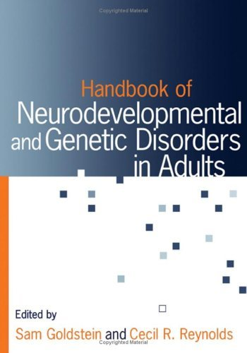 Handbook of Neurodevelopmental and Genetic Disorders in Adults (English Edition) PDF Books