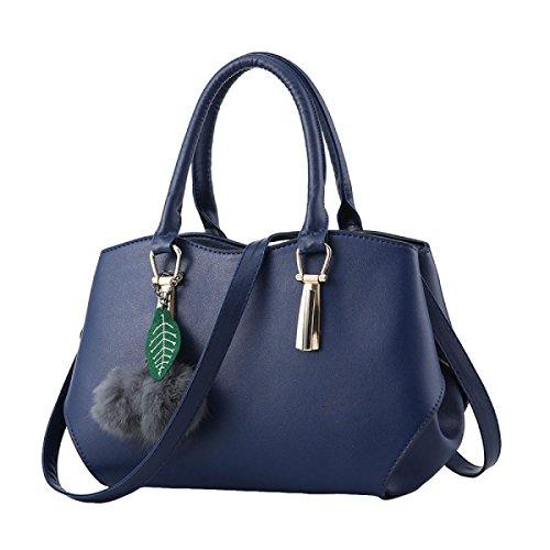 Handtaschen Elegante Handtaschenschulter Kurierbeutelart Und Weisefreizeit Blue