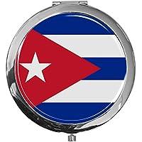 "metALUm - Extragroße Pillendose in runder Form""Flagge Kuba"" preisvergleich bei billige-tabletten.eu"