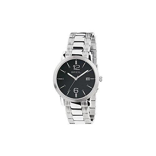 BREIL Watch Momento Male Only Time Black Stainless steel - TW1455