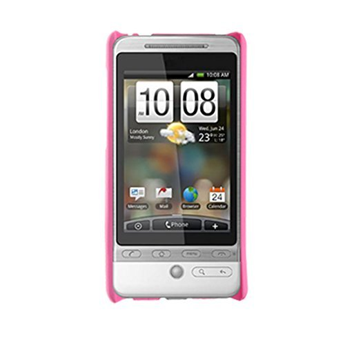 Water & Wood Plastic Cover Pink Hard Back Case For HTC G3 Hero