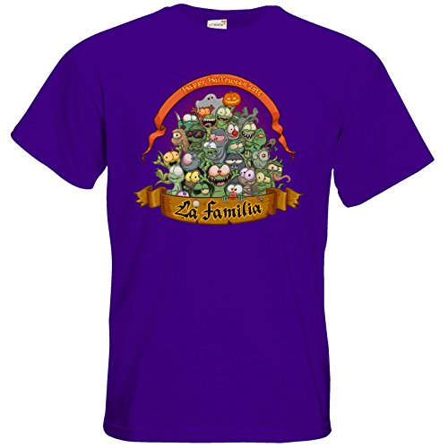 getshirts - Gronkh Official Merchandising - T-Shirt - Halloween 2016 Purple