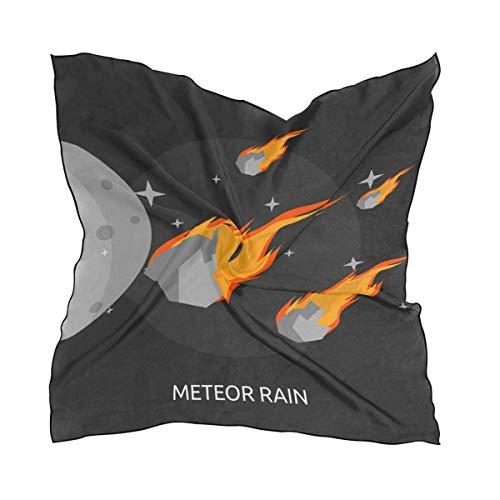 Meteor Rain Big Square Schals Head Wrap Women Shawl Wrap Silks Material - Big Square Schal