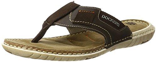 Dockers by Gerli 38sd001-204360, Mules Homme Marron (Schoko 360)