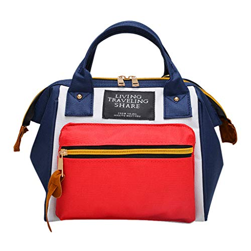 SCEMARK Mode Damen Herren Vintage Tagesrucksack,Multifunktionaler Daypack Wasserdichte Daypack Schultaschen Bergsteigerrucksack