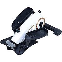 Homcom Stepper Resistencia Ajustable Máquina de Step Mini Bicicleta Elíptica Pantalla LCD Control Magnético Pedal Antideslizante