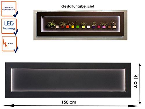 Pareti Lavagna Magnetica : Kalamitica u2013 lavagna magnetica in metallo con led di illuminazione