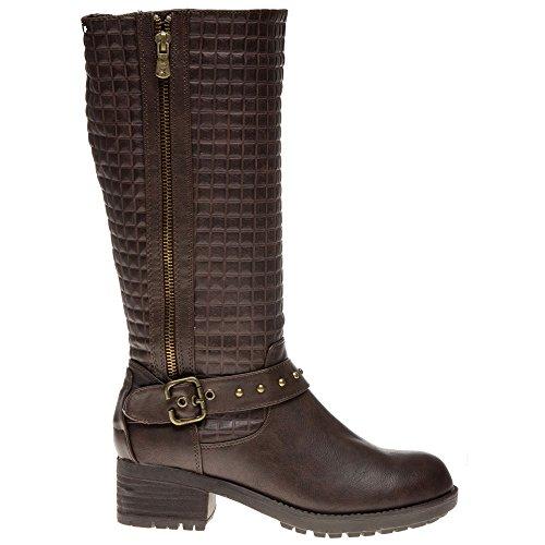 Xti 27202 Femme Boots Marron Marron