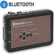 DIGITNOW! Reproductor de Casete Walkman con Bluetooth Registrador Digital de Cinta de Casete, Cinta