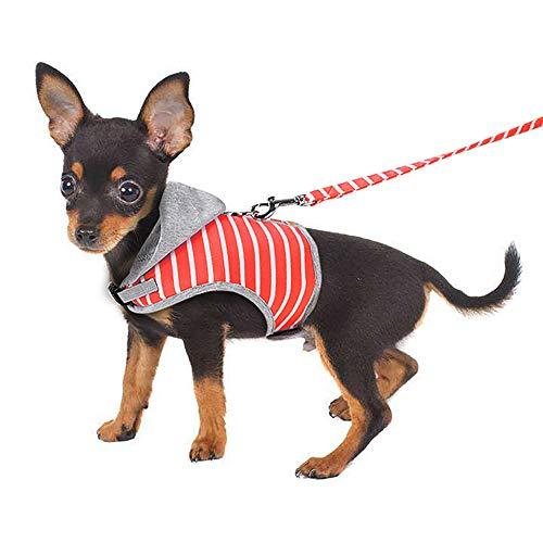 BLEVET Ajustable Arnés Perro Mascota Pecho Collar