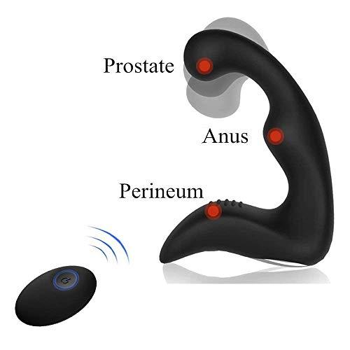 Próstata massag ^ ers Male G ^ ^ sp0t S, Wireless Remote Control vibra-ting ^ an-al S-E-X t0ys, 3in 1próstata stimu-lator with 9modos, an-al Plug ^ for p-sp0t testicles perineum estimulación